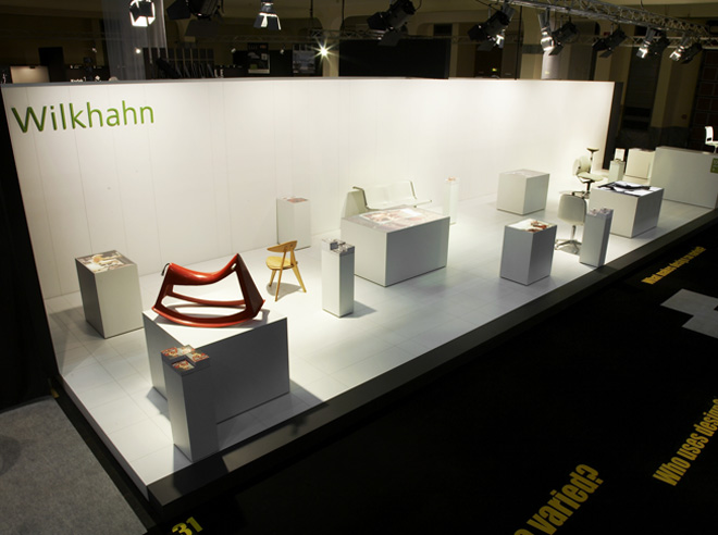 products exhibition stand design design annual 2007 1 wiege. Black Bedroom Furniture Sets. Home Design Ideas